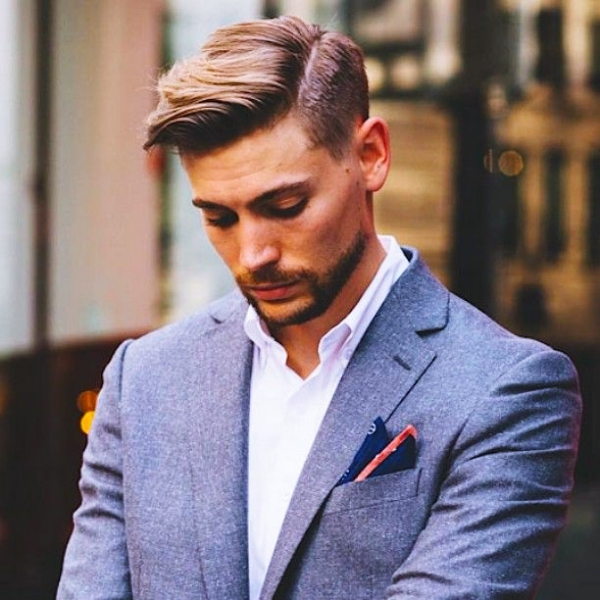 Lovely Simple And Sexy Office Hairstyles For Men U2013 4