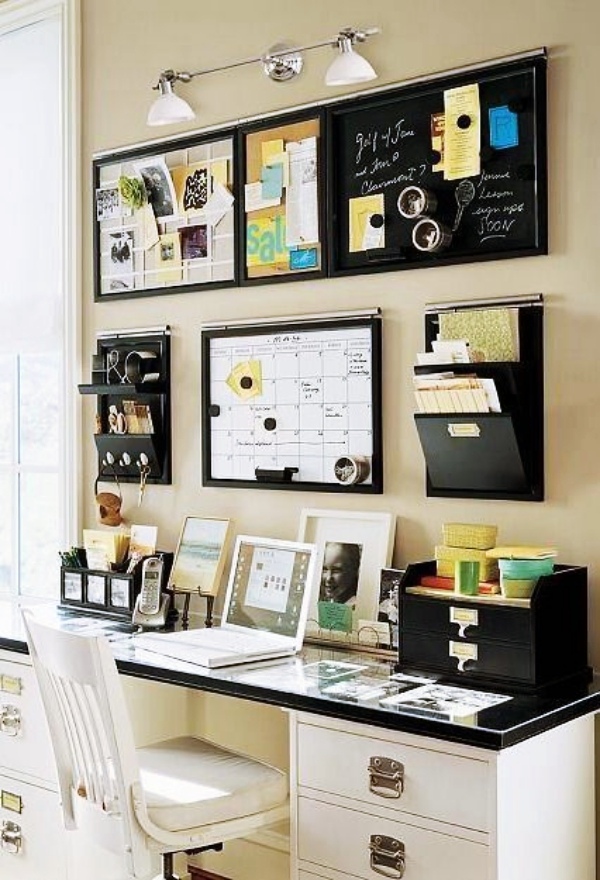 20 Genius Office Wall Decor Ideas