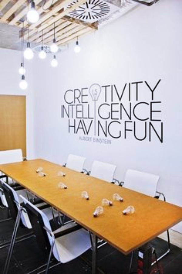 40 Genius Office Wall Decor Ideas -