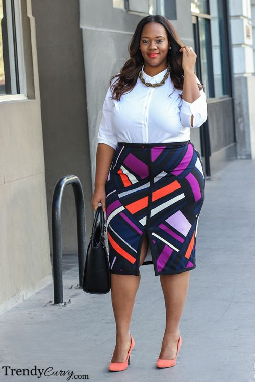 40 Office Approved Outfits For Plus Size Women