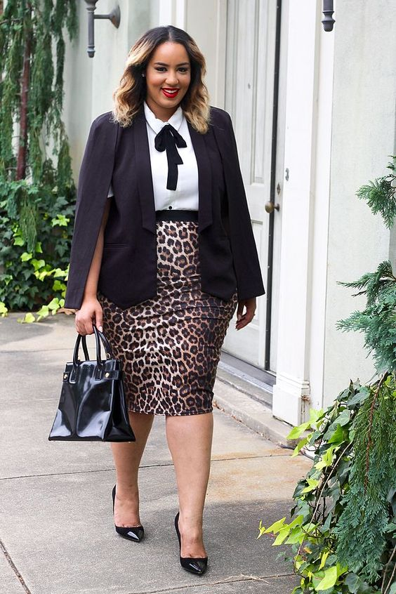 60f3a9b99da ... Office Approved Outfits For Plus Size Women You can go from formal to  semi-formal outfits whatever suits you. Image Source