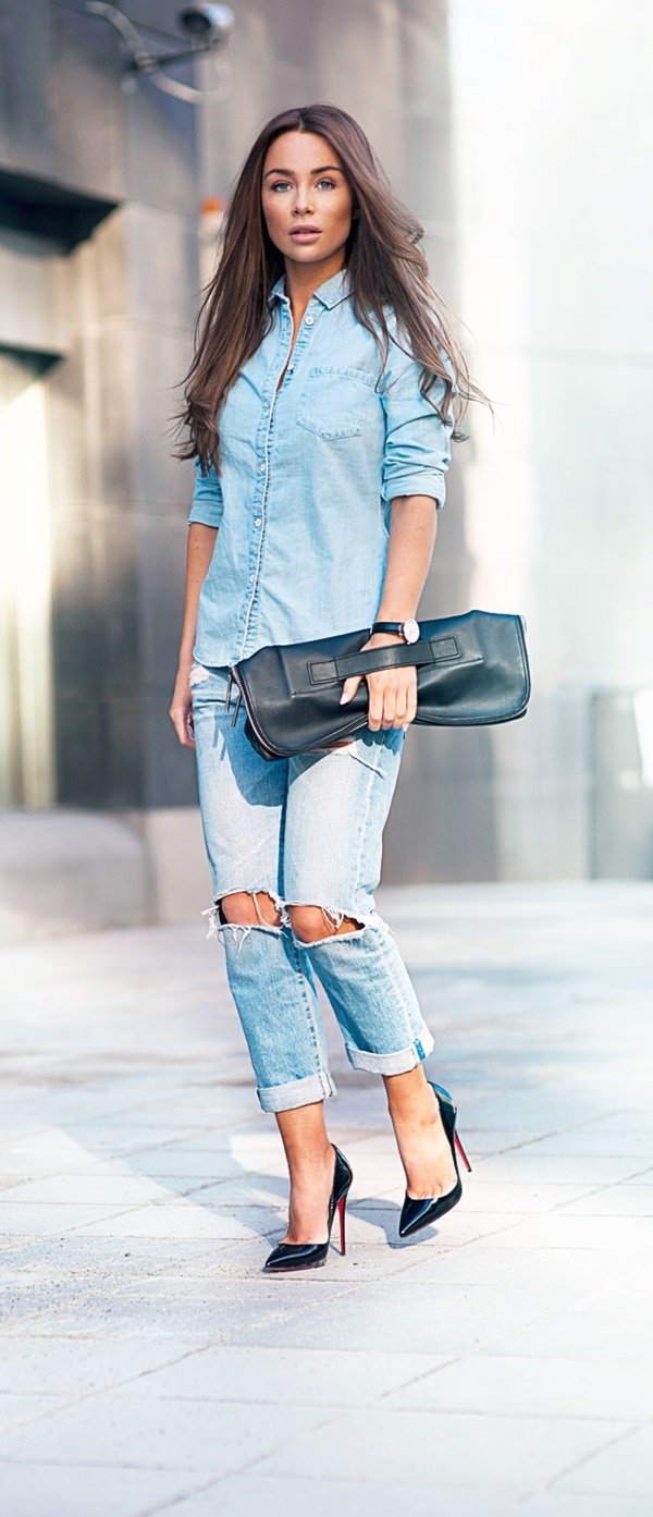 Ways-to-Wear-Denim-in-Office