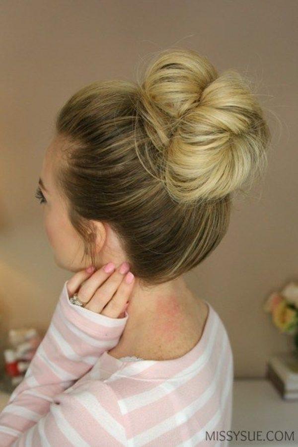 13gorgeous Bun Hairstyles For Office Women Office Salt