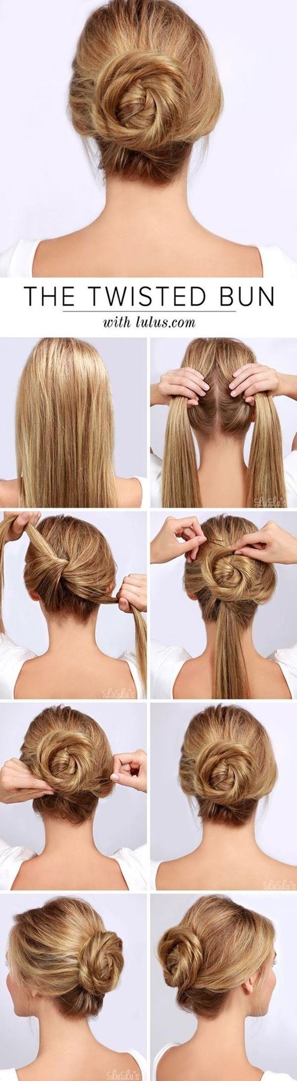 9 Gorgeous Bun Hairstyles For Office Women