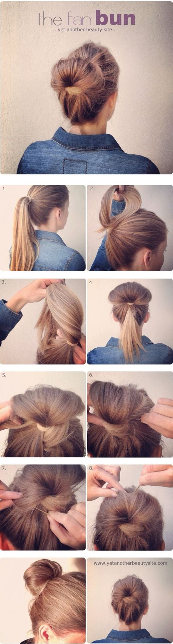 Gorgeous-Bun-Hairstyles-For-Office-Women