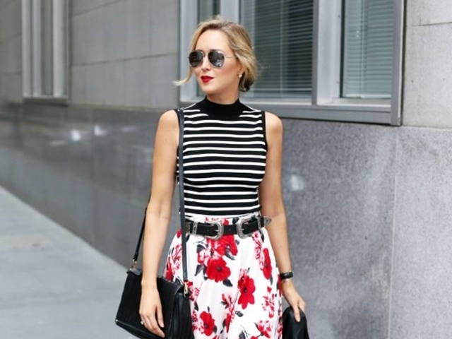 Mixed-Casual-Work-Outfits-Women