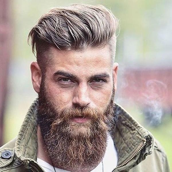 45 Super Attractive Comb-Over Fades Haircuts for Men ...