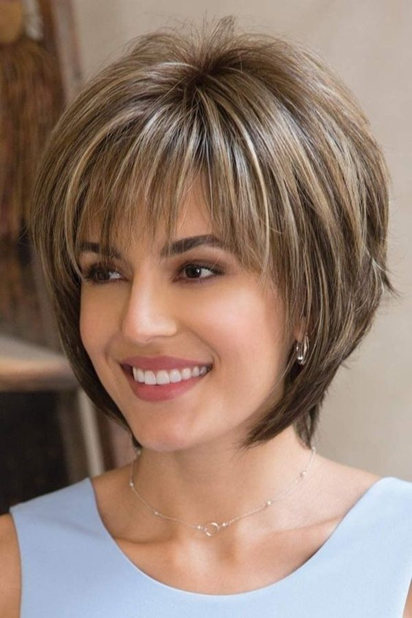 13best Short Hairstyles For Round Chubby Faces