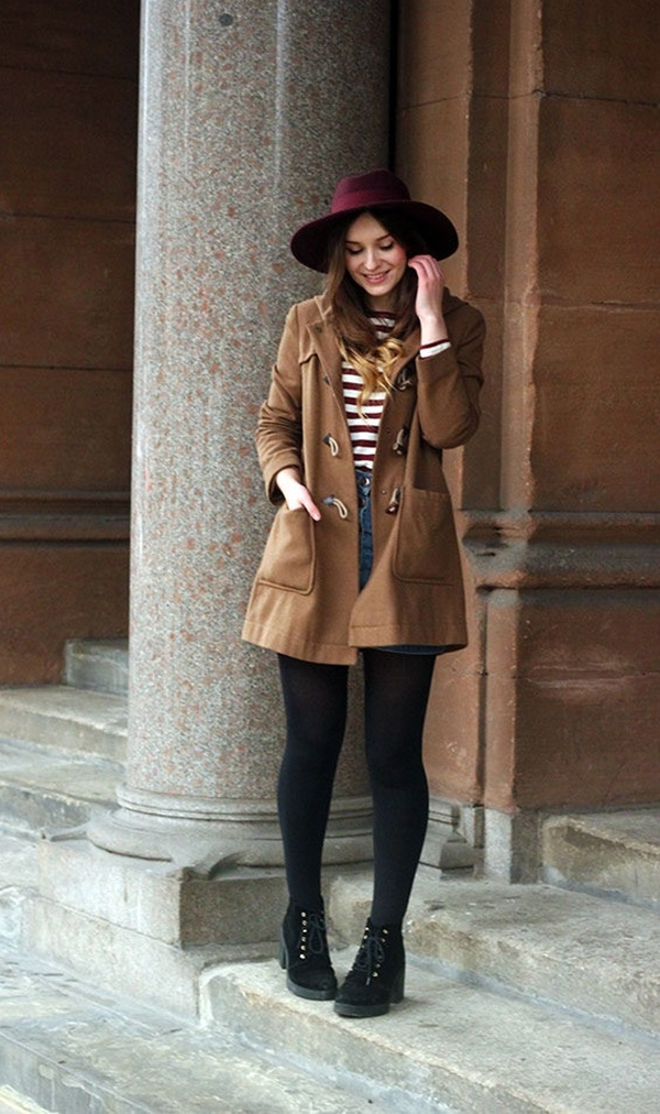 stylish-duffel-coat-outfits-for-women