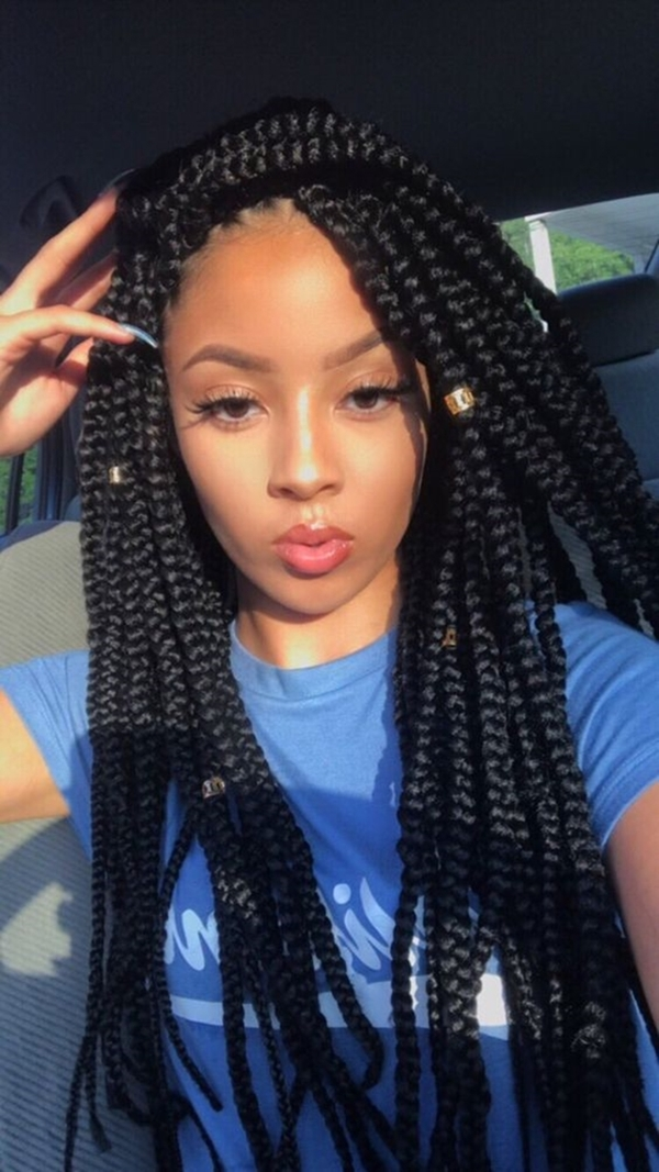 40 Unique Box Braids Hairstyles To Make You Look Super