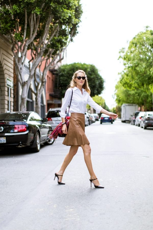 fashion blog for professional women new york city street